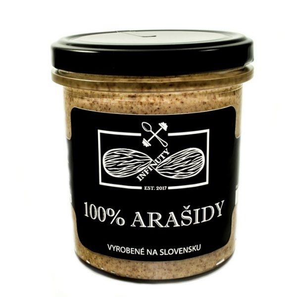 100% arašidové maslo